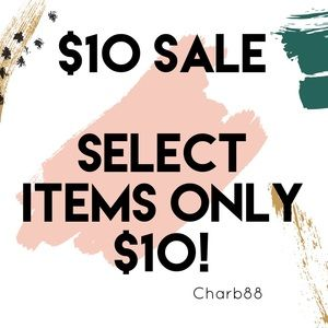 !! $10 Sale!! Look for items with a ⭐️